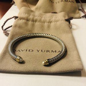 David Yurman Topaz cable classics 10mm Bracelet